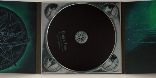 500 X CDs Glass Mastered 6 panel Digipak one disc Delivered inc VAT £689